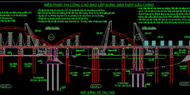 giải pháp thiết kế cầu tạm